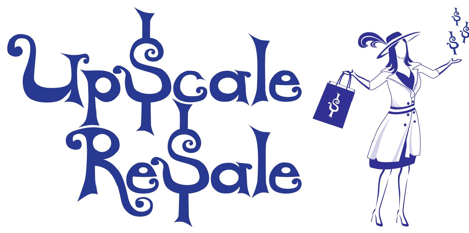 Upscale Resale Consignment Logo
